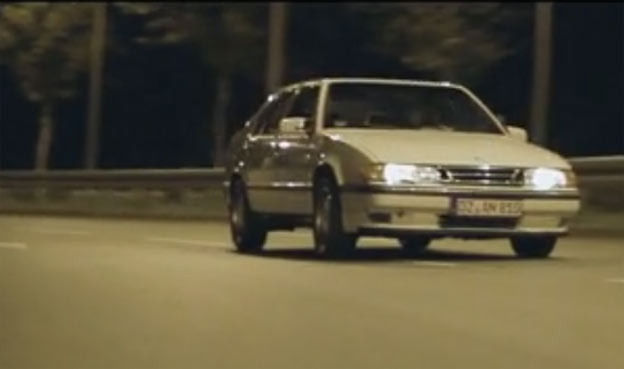 "Saab 9000 - ""White ride"" short film"