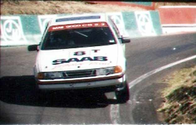 "Saab 9000 CS at ""Bathurst 12-Hour"" Race"