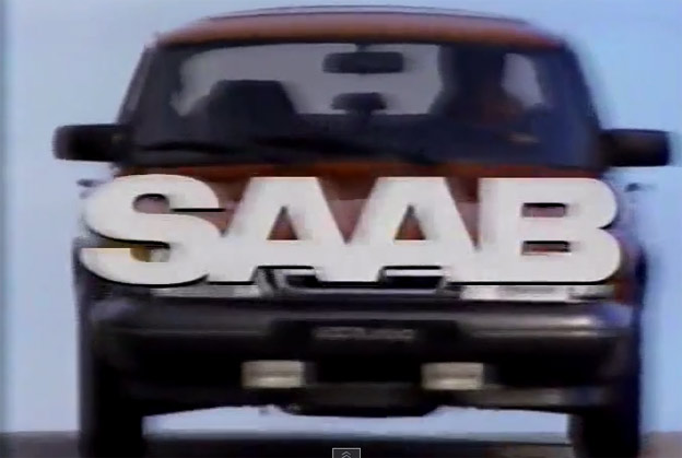 Saab 900 in TV Commercial