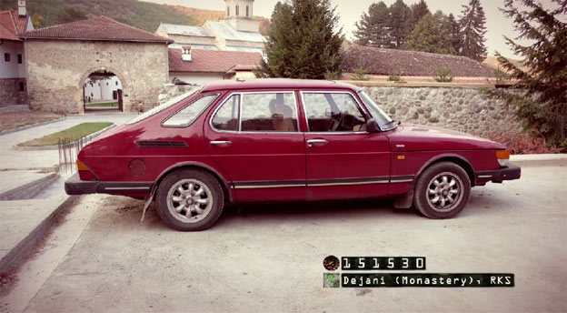 "Saab 900i and ""Tour de Balkan"""
