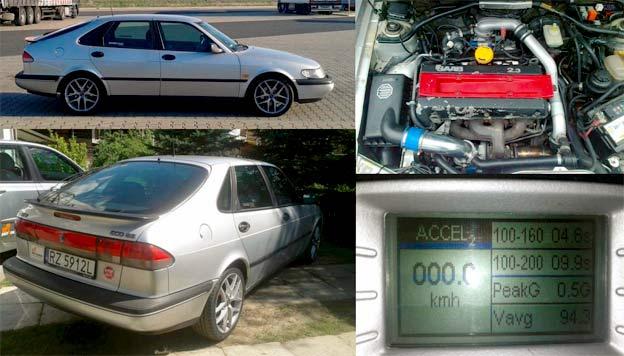 Saab 900 NG tuned