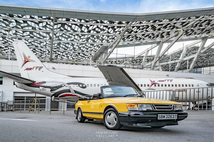 Saab 900 S turbo by Abel Art