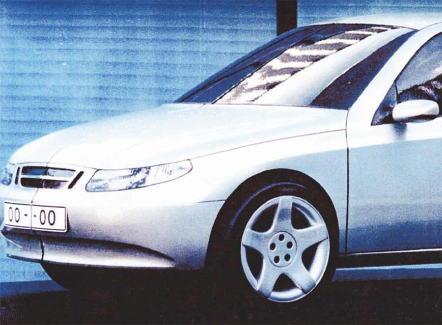 9200 - Saab grille by Opel, but without the recognizable Saab design lines