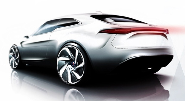Saab 9-2 Concept by Quentin Huber