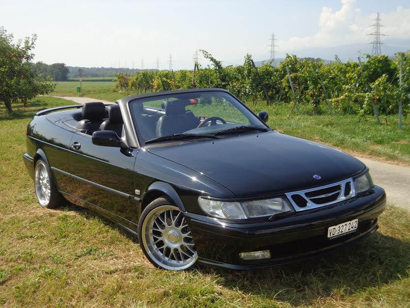 1999 SAAB 9-3 Convertible 2.0i Turbo 232 HP