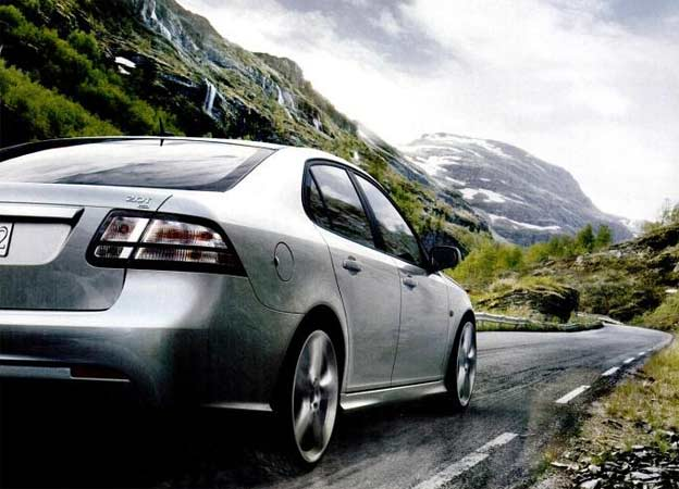 Saab. A car that reads the road.