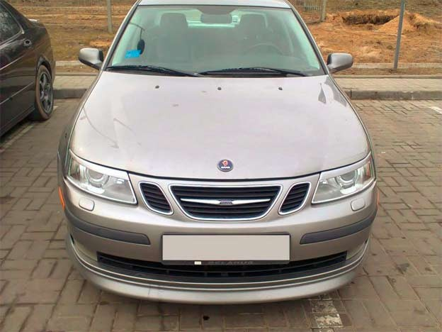 Saab 9-3 9-3 Headlight Eyebrows example