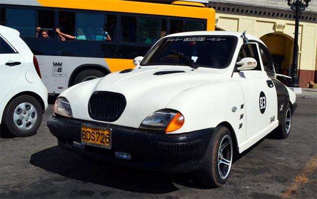 DIY Saab 93 from Cuba