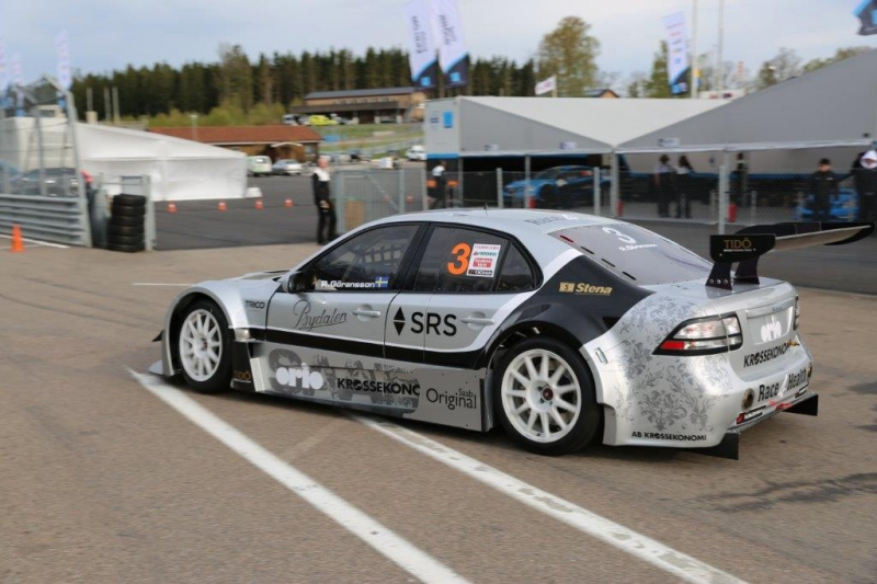 Saab 9-3 STCC finished second in Gothenburg