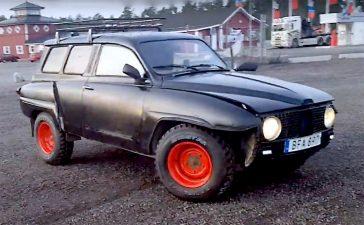 Saab 95 ratrod