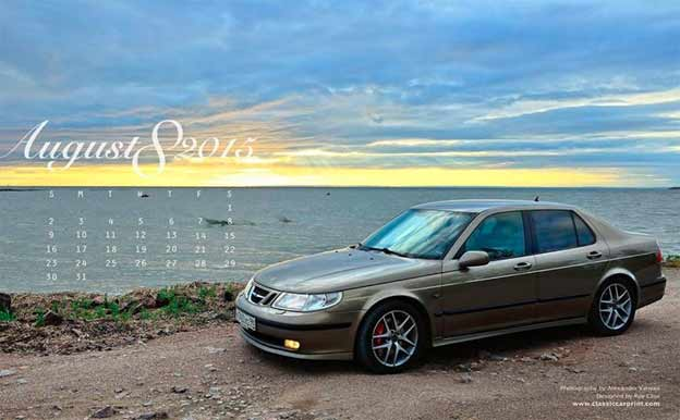 saab 9-5 wallpaper