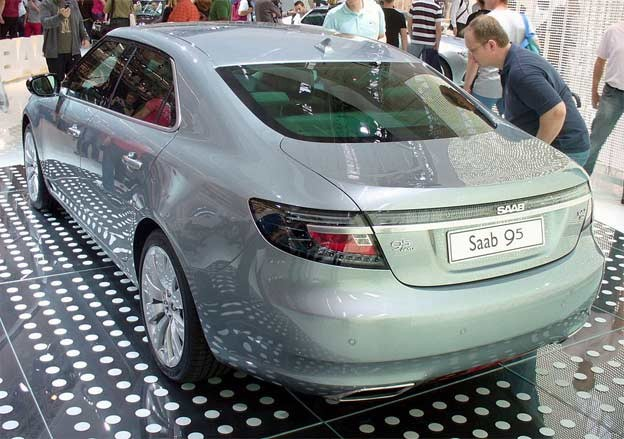 New Saab 9-5 - photo by Thomas Doerfer