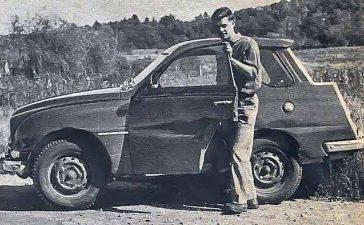 Saab 95 hunting