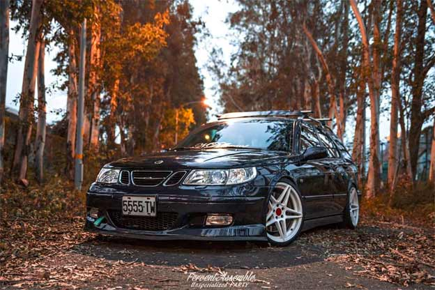 Amazing Saab 9-5 from NDifferent Club