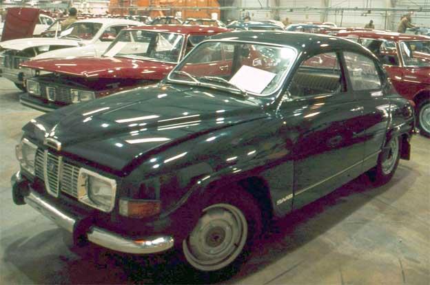 Saab 96 from Uusikaupunki