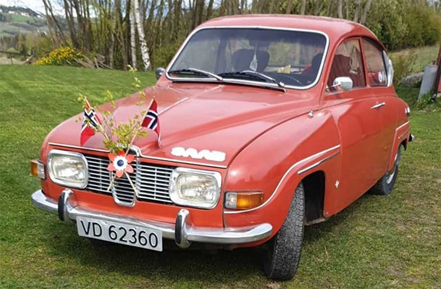 One of the rarer Saab 96 models in its original form, without restoration, but in a fully functional and usable condition.