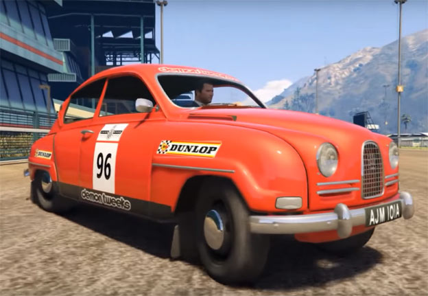 GTA 5 Mod: Saab 96 Rally - Free Download