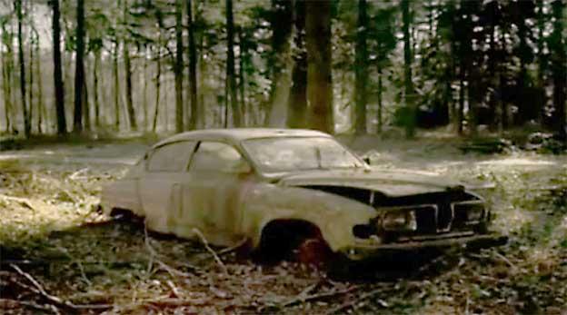 Abandoned Saab 96