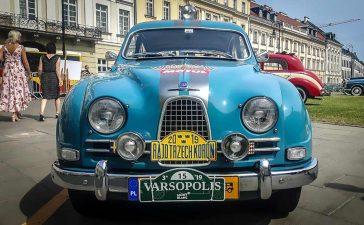 Classic Saab Cars at Varsopolis 2019