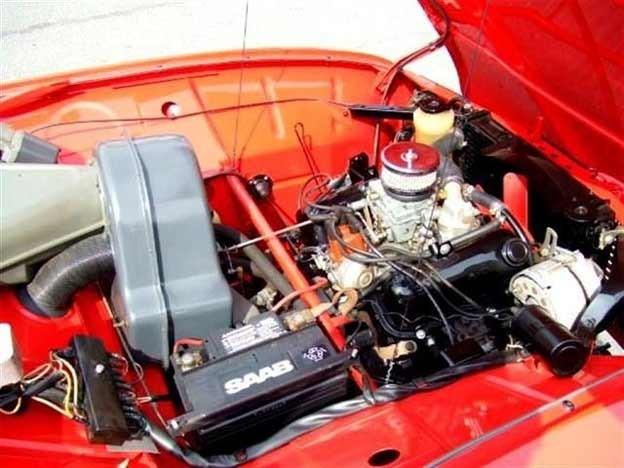 Saab 96 engine V4