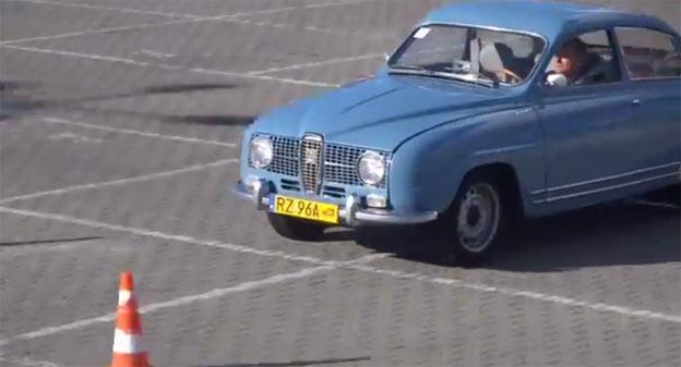 Saab 96 2T Blue Rally