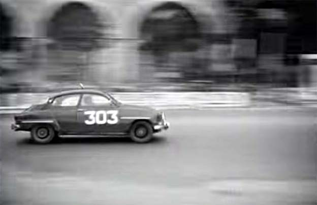 SAAB 96 Rally and Racing Films