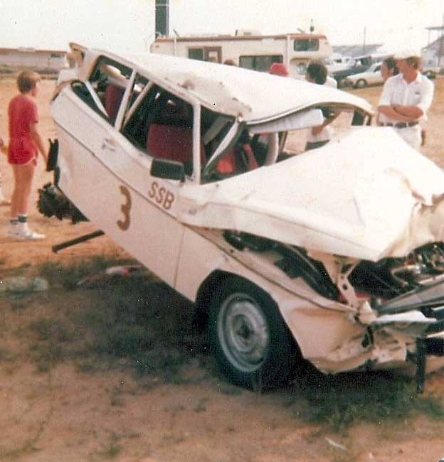 saab 99 crash