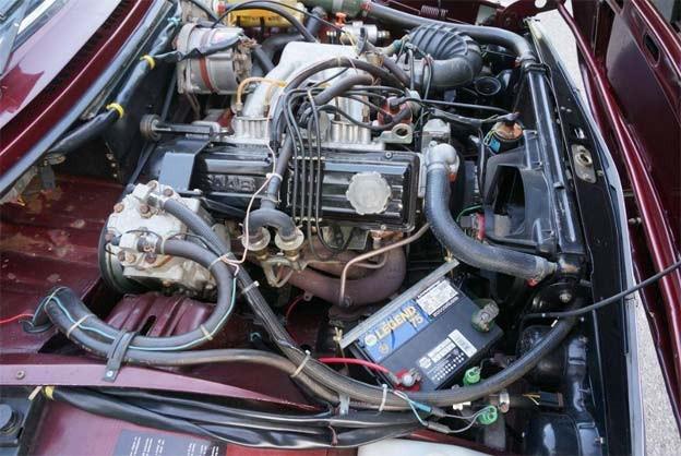Saab 99 EMS engine