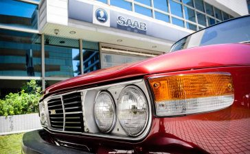 Saab 99 GL Coupe from Taiwan