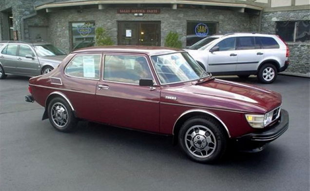1977 Saab 99 Turbo Test Vehicle #934 for $37,000