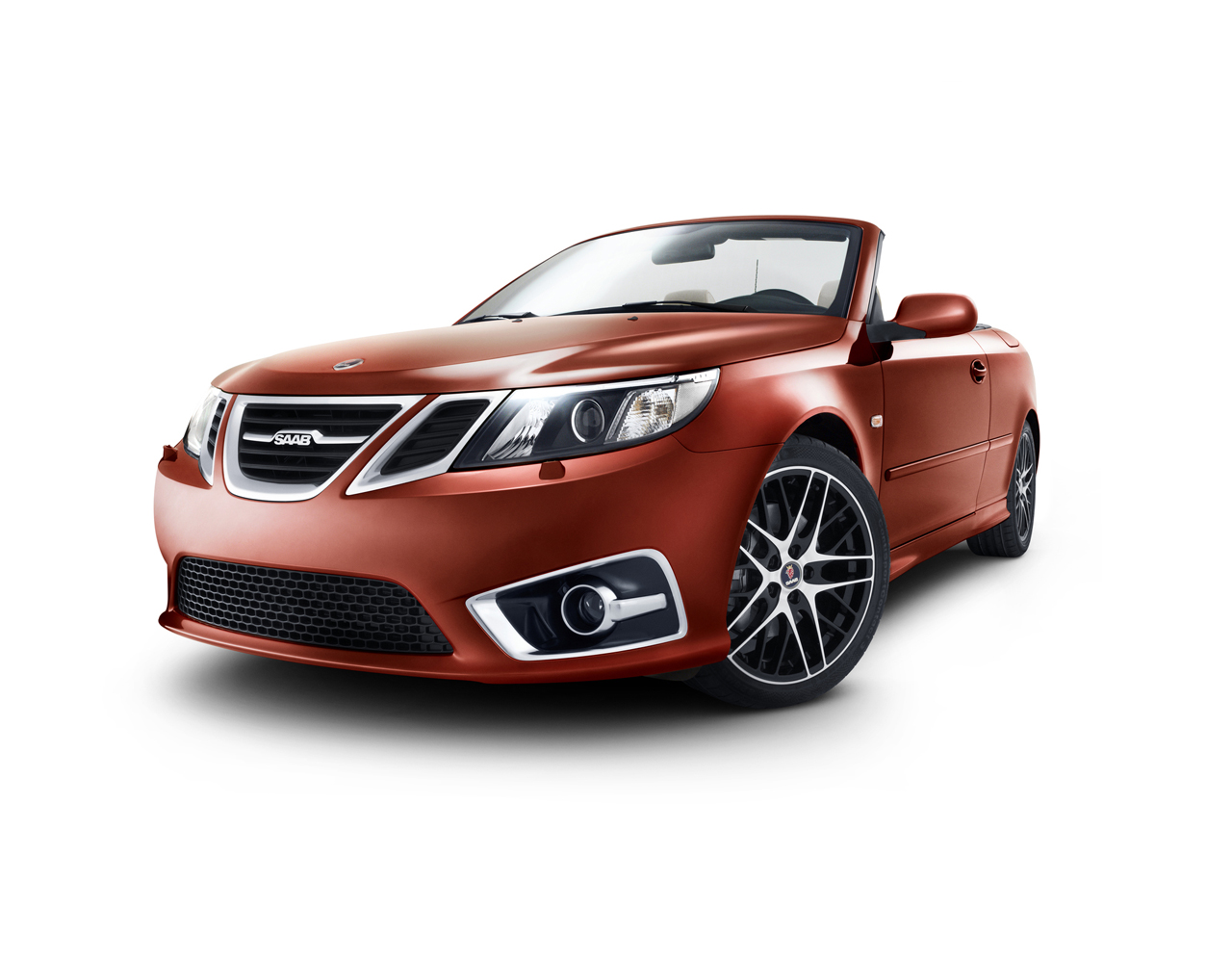 Saab creates a celebratory model 9-3 Convertible Independence Edition