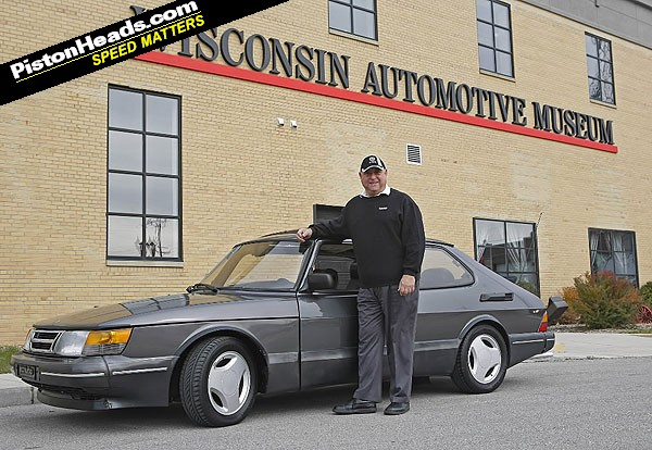 1989 Saab 900 SPG with 1 million-mile donated to a museum!