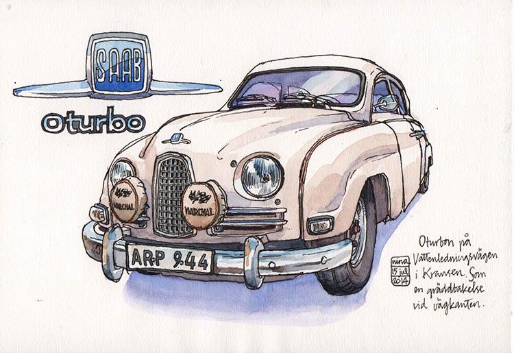 SAAB 96 un-turbo