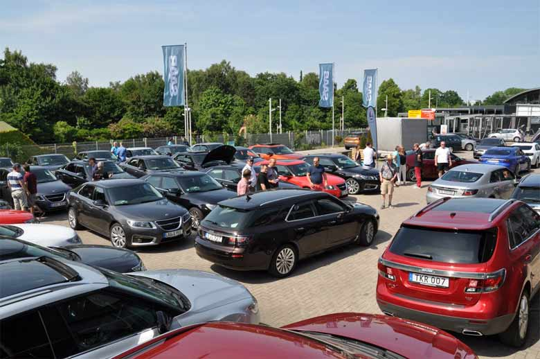 Pilots Wanted 2018 - The biggest gathering of Saab 9-5 NG owners in the World