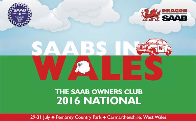 Saabs Meet in Wales