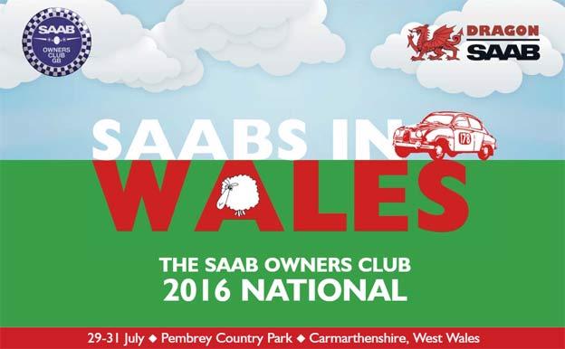 Saabs Meet in Wales