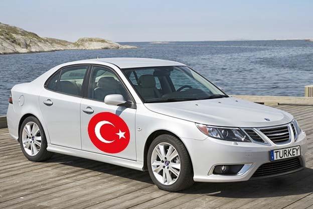 Saab 9-3 from Turkey