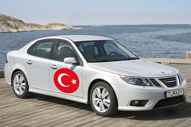 Saab 9-3 from Turkey