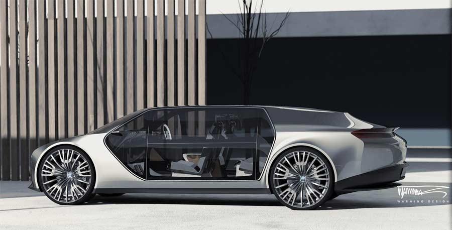 Saab Future Limousine