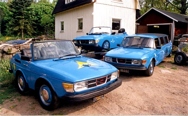Unusual Saab Projects