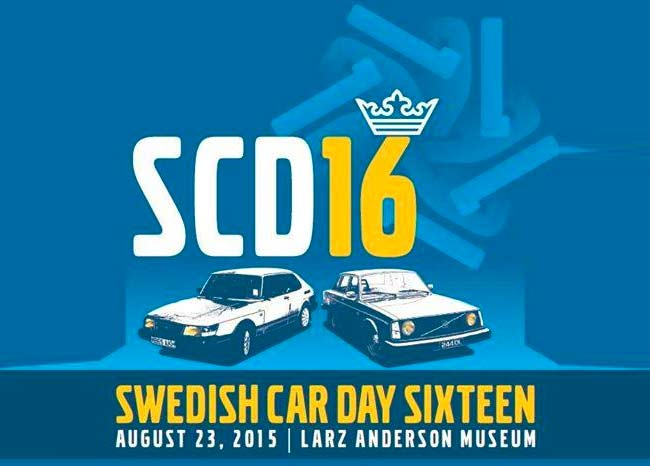 SCD16 - Swedish Car Day 2015 - Larz Anderson Auto Museum