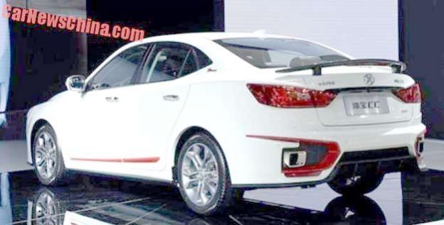 Senova CC with Saab 2.0 Turbo engine