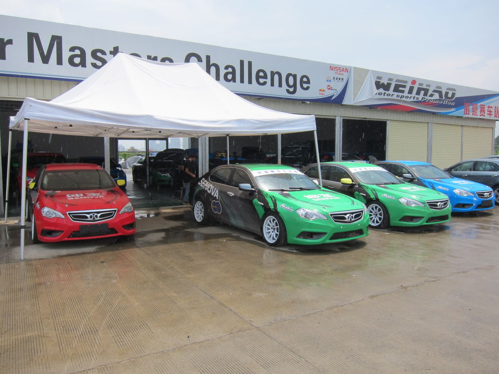 """Successors of Saab 9-5 in the """"Chinese Cup"""""""
