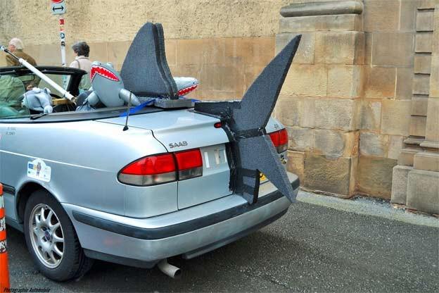 shark saab convertible