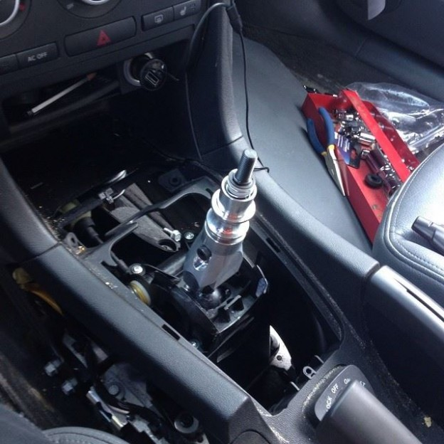 short shifter Saab 9-3