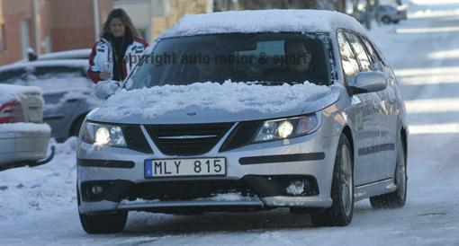 Saab preparing a facelift for model 9-3
