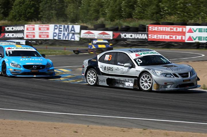 Heavy weekend for SAAB Team Tidö in STCC