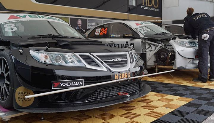 In Today STCC race 5 will be Saab 9-3 STCC!