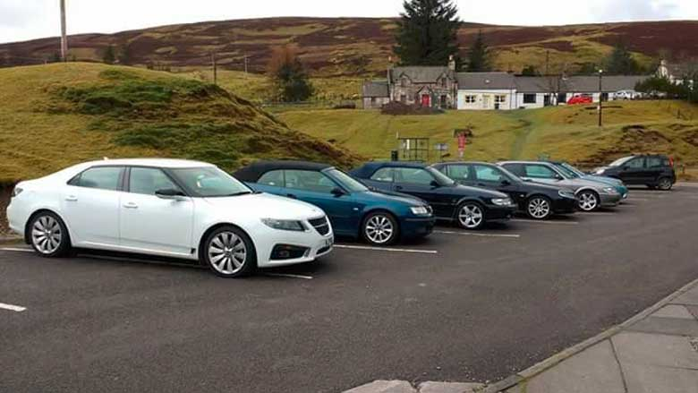 the Scottish Saab Enthusiasts group