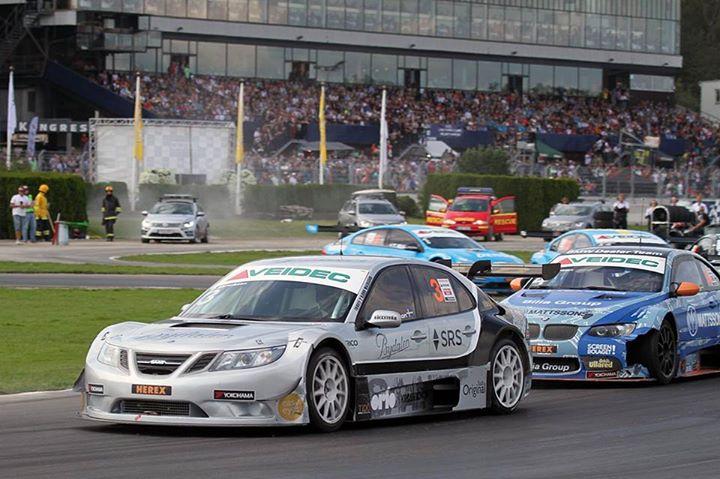 Saab Sport: Chaotic STCC race at Solvalla